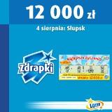 Główna wygrana w zdrapkę Lotto w Słupsku
