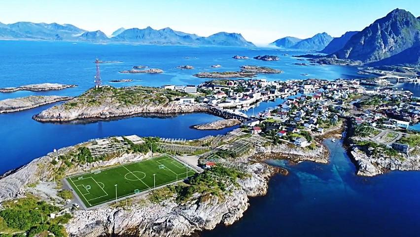 Genialne widoki i bajkowe położenie. Niesamowite areny piłkarskie