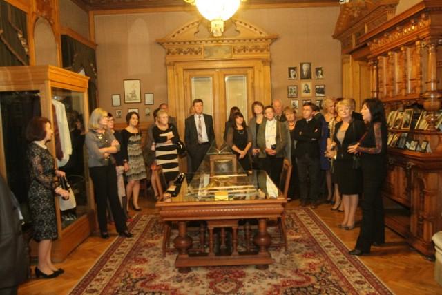 Wieczorem w Pałacu Poznańskiego odbyła się uroczysta kolacja na zakończenie pierwszego dnia konferencji
