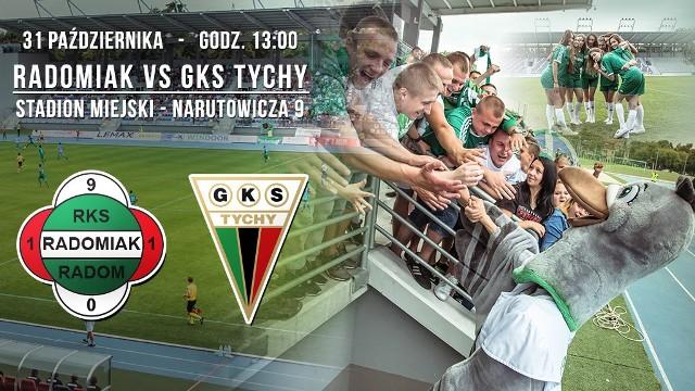 W sobotę Radomiak Radom zagra z GKS Tychy.