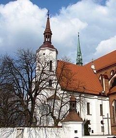 Stary kościół farny w Białymstoku.