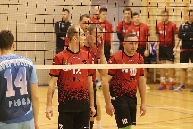 Siatkarze z Ostrołęki przystępowali do meczu z bilansem jednej wygranej i dwóch porażek.