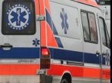 Na krajowej 94 w Lubzinie osobówka zderzyła się z motocyklem. 1 osoba ranna