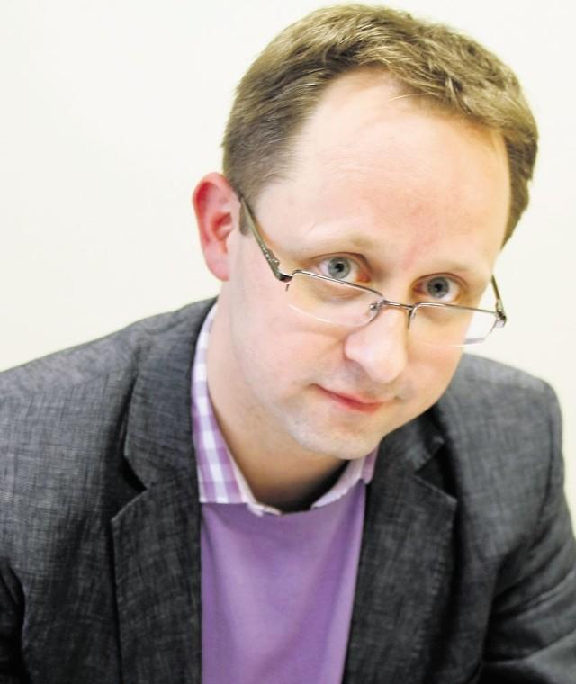 Bartłomiej Wojdak jest szefem Biura Promocji, Turystyki i Współpracy z Zagranicą UMŁ