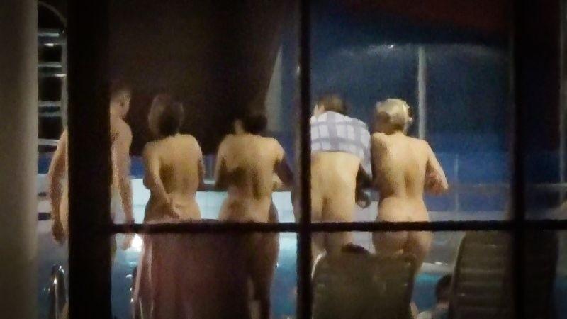 Naturyści. W nocy z sobotę na niedzielę  w łódzkim aquaparku...