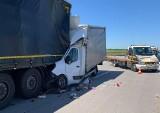 Tragiczny wypadek na A4. Kierowca nie żyje, droga zablokowana