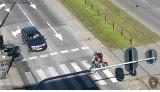 Posypały się mandaty dla rowerzystów za jazdę po chodniku i po pasach. Ukarano 230 osób ZDJĘCIA