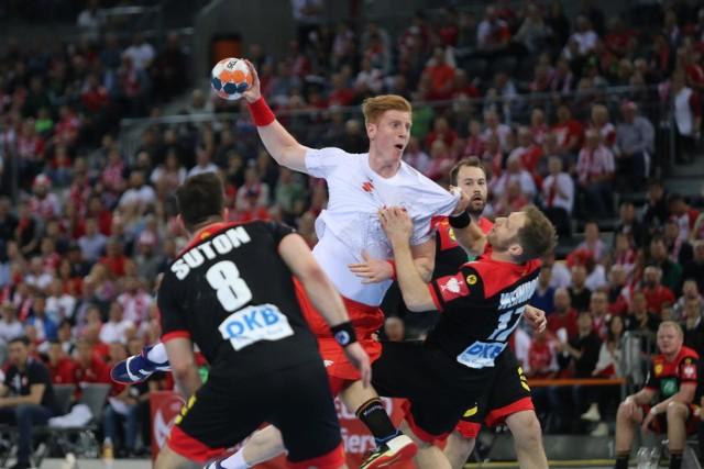 Reprezentacja Polski trafiła na trudnych rywali w finałach mistrzostw Europy. Na zdjęciu Tomasz Gębala