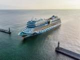 Gdynia: Uśmiechnięty wycieczkowiec zacumował przy Nabrzeżu Francuskim. AIDAmar zachwyca urodą!