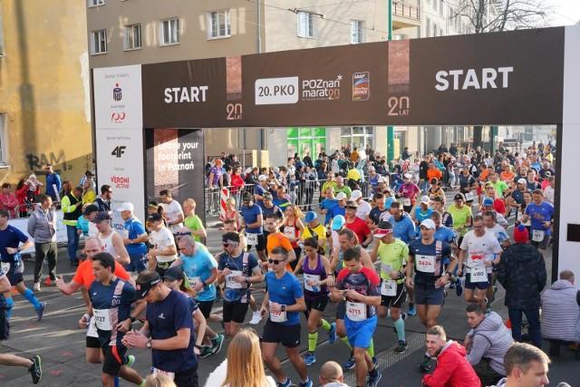 20. PKO Poznań Maraton w październiku 2019 r.