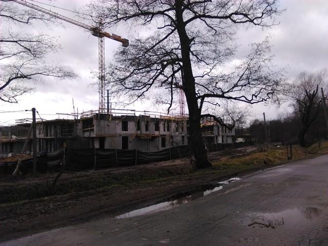 Właśnie trwa budowa przy ul. Filtrowej - odcinku Młynówki Królewskiej