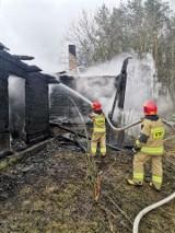 Zaleszany. Śmierć 49-letniego mężczyzny w pożarze domu