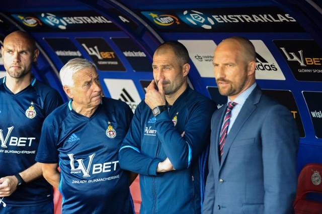 Od lewej: Mariusz Jop,  Kazimierz Kmiecik , Radosław Sobolewski i Maciej Stolarczyk, lipiec 2018