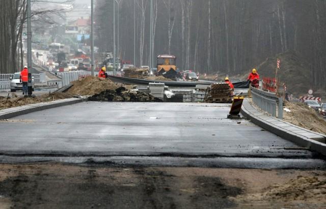 Strabag buduje drogi w całej Polsce. Na zdjęciu budowa w Gdyni