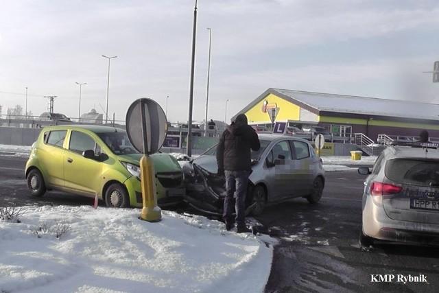 Wypadek samochodu nauki jazdy w Jankowicach