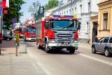 Międzynarodowy Dzień Strażaka w Białymstoku. Przejazd wozów strażackich ulicami miasta (zdjęcia, wideo)
