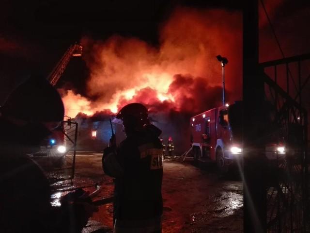 - Gdy zajął się cały dach, zaczęliśmy przegrywać walkę z pożarem - mówi kom. Marek Harkot.
