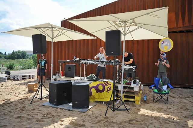 Muzyka elektroniczna na Plaży Miejskiej