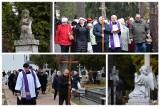 Procesje na Dzień Zaduszny. Dwie procesje przeszły przez Cmentarz Farny w Białymstoku przy Raginisa 8 (zdjęcia)