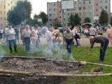 Pieczenie ziemniaka na Centrum w Ostrołęce [ZDJĘCIA, WIDEO]