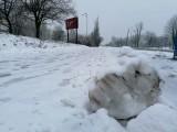 Zima w Koszalinie. Całe miasto zasypane śniegiem [ZDJĘCIA]