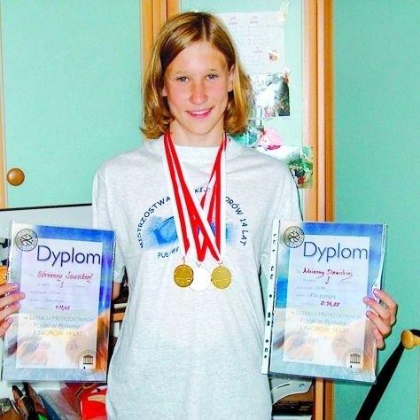 Adrianna Sawicka wierzy, że juniorskie sukcesy uda się jej powtórzyć w rywalizacji seniorów