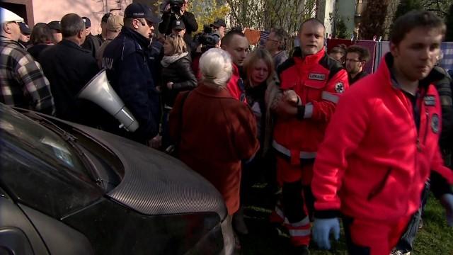 Tak wyglądała eksmisja w KrakowieBrutalna eksmisja komornicza (WIDEO)