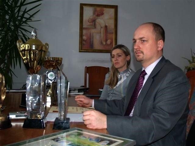 Tomasz Krajanowski, dyrektor ds. handlu w SMl Ostrołęka