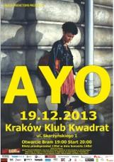 Ayo wraca z nową płytą. Wokalistka wystąpi w Krakowie