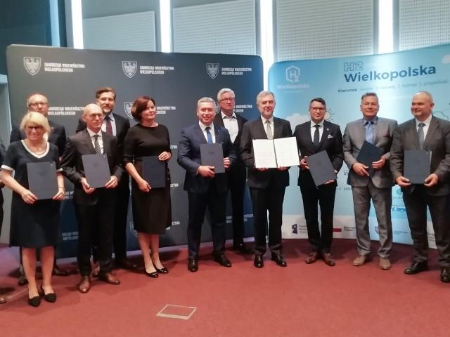 Podpisanie Deklaracji o woli powstania Wielkopolskiej Doliny Wodorowej