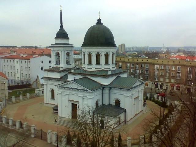 Cerkiew św. Mikołaja w Białymstoku.