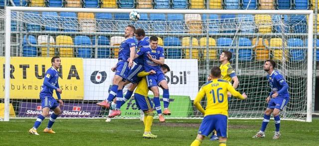 W meczu Arka Gdynia - Bruk-Bet Termalica Nieciecza padł remis 1:1