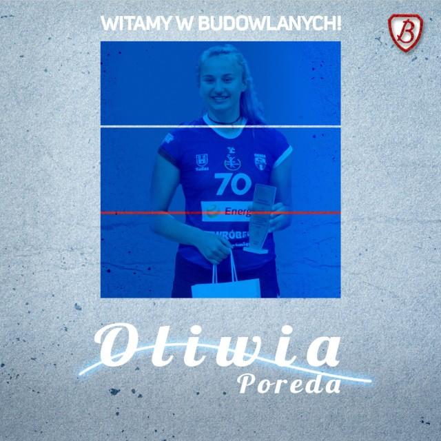 Oliwia Porada zagra w Grot Budowlanych