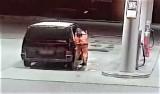 34-letni mieszkaniec powiatu sulęcińskiego wlewał na stacjach paliwo do zbiorników i uciekał nie płacąc. Zobacz film ze złodziejskiej akcji!