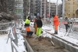 Nowa ścieżka rowerowa z północy Wrocławia do centrum. Budowa nie zwalnia mimo zimy