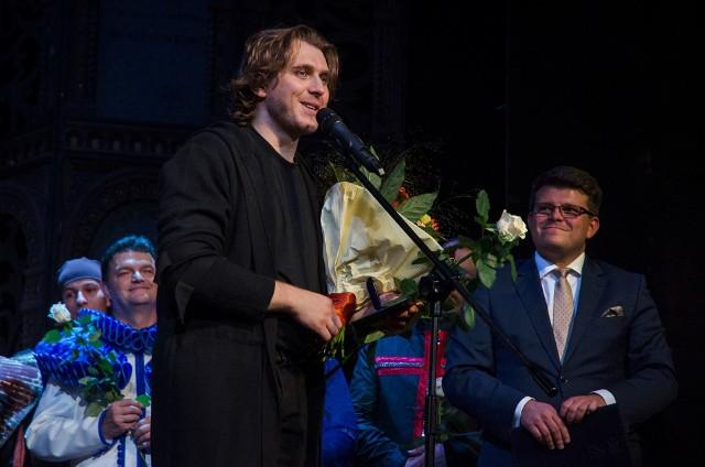 Śpiewak operowy Andrzej Lampert odznaczony za zasługi dla regionu