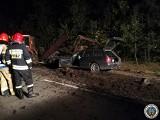 Podlaskie: Koszmarny wypadek. Element rozrzutnika zabił kierowcę ciężarówki [ZDJĘCIA]