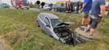 Wypadek na DK10 pod Bydgoszczą! Są poszkodowani i utrudnienia w ruchu