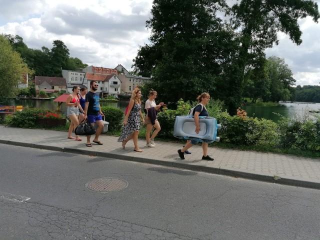W Łagowie jak co roku turystów nie brakuje