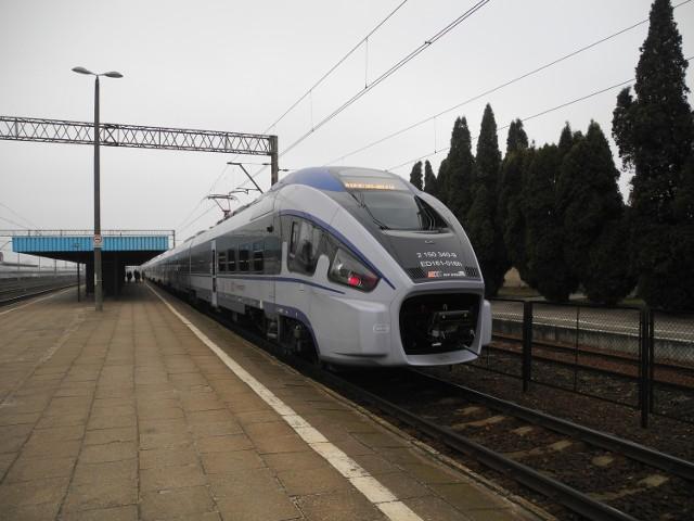 Do samobójstwa doszło w pociągu relacji Białystok - Jelenia góra