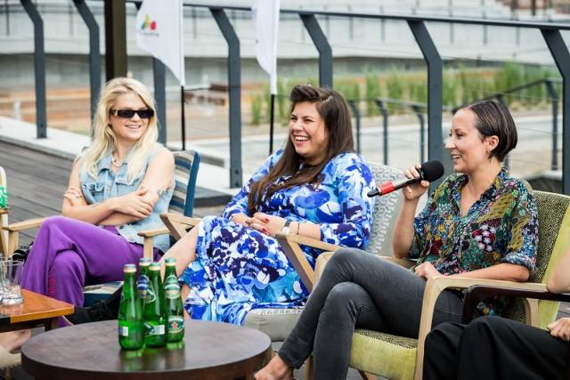 Na tarasie Młynów Rothera odbyła się konferencja prasowa, podczas której artystki: Margaret, Monika Borzym, Paulina Przybysz i Kasia Lins wraz z przedstawicielami miasta przedstawiły ideę Women's Voices Festival, który w Bydgoszczy odbędzie się 28 i 29 sierpnia 2021 r.