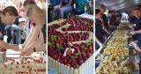 V Festiwal Truskawek Kaszubskich. Stoiska, konkursy, atrakcje dla dzieci. Pobito rekord Polski w przygotowaniu pierogów z truskawkami!