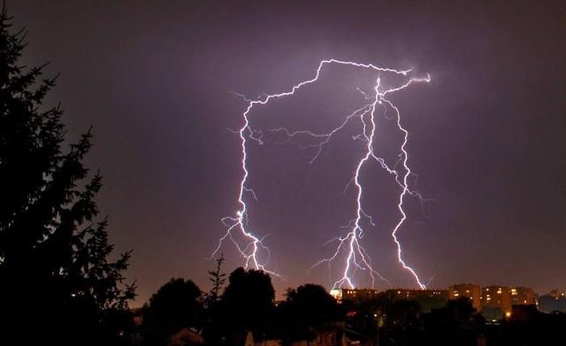 IMGW ostrzega: W nocy i w sobotę w Wielkopolsce będą silne burze