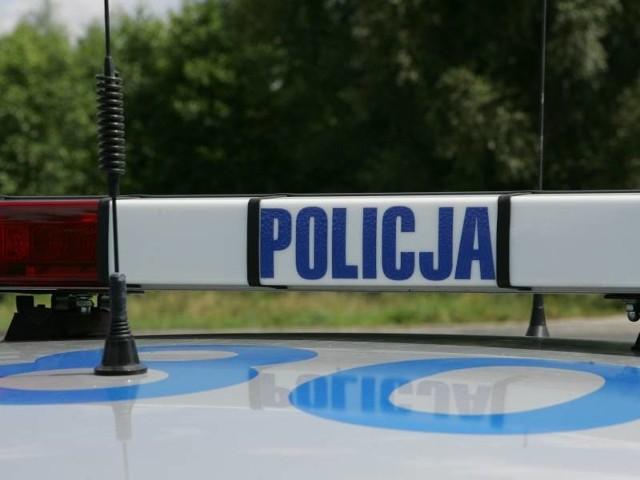 Policja zabezpieczyła miejsce zdarzenia.
