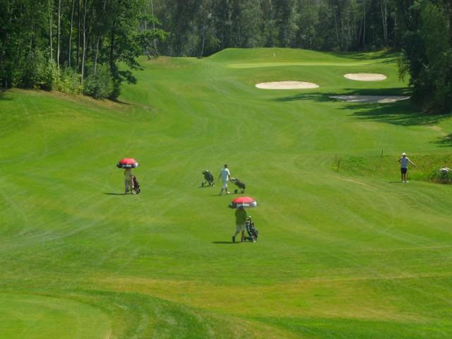 Pole golfowe w Bytomiu