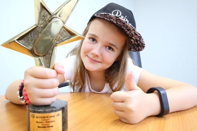 Statuetka Scyzoryka w kategorii Muzyka Dziecięca powędrowała do 11-letniej Weroniki Basąg z Kielc. Gratulujemy i życzymy dalszych sukcesów!