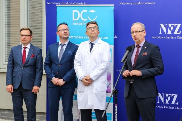 O szczegółach zmian, jakie mają być wprowadzone w najbliższym czasie, opowiadał Adam Niedzielski na spotkaniu we Wrocławiu.