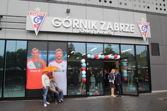 Uroczyste otwarcie Sklepu Kibica Górnika Zabrze, 11 lipca 2017 r.