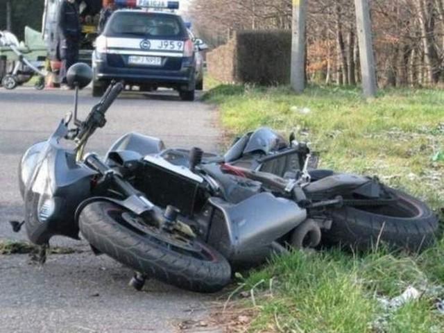 Wałęsa ciężko ranny, gdy jechał motorem i uderzył w wyjeżdżającą z pobocza i zawracającą toyotę Tadeusza M.