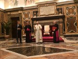 Chore dzieci z Wrocławia spotkały się papieżem Franciszkiem (ZDJĘCIA)
